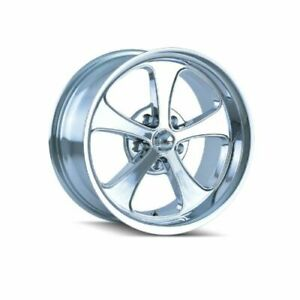 Ridler 645 2165c Single Style 645 20x10 5x114 3mm 0 Offset Chrome Rim