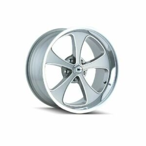 Ridler 645 8965gp Single Style 645 18x9 5 5x114 3mm 0 Offset Grey Rim
