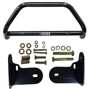 Westin 30 0025 30 1285 Black Safari Light Bar Mounting Kit For 01 04 Frontier