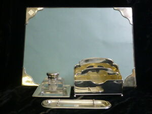 Vintage 1920 S 1930 S Tiffany Co Sterling Silver Desk Set