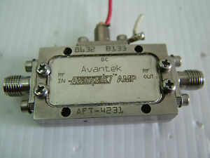 Avantek 2 4ghz 10db 20dbm Rf Amplifier Aft 4231