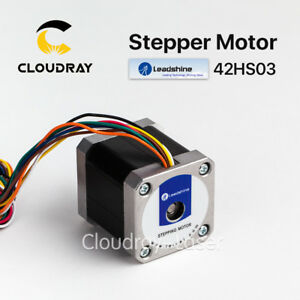 2 Phase Stepper Motor 42hs03 Leadshine 7 2a 0 47 N m For Nema17 Cnc 3d Printer