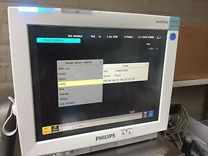 Philips Intellivue Mp70 Anesthesia Monitor M8007a