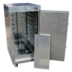 Heatmax 4 Commercial Warming Cabinet Bread Pastry Dough Warmer Usa