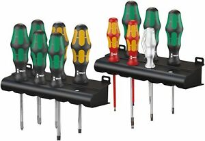 Wera Tools Screwdrivers Insulated Chisel Driver Tester Set Laser Tip 12 Pc Torx