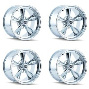 Ridler 675 7865c 675 7965c Set Of 4 Style 675 17x8 17x9 5 5x114 3 Chrome Rims