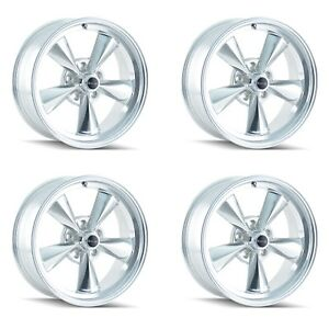 Ridler 675 7765p 675 7865p Set Of 4 Style 675 17x7 17x8 5x114 3 Polished Rims