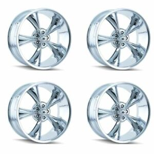 Ridler 695 8873c 695 2173c Set Of 4 Style 695 18x8 20x10 5x127 Chrome Rims