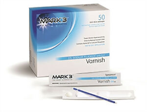 Mark3 5 Sodium Fluoride Varnish With Tcp Bubble Gum Unidose 50 bx