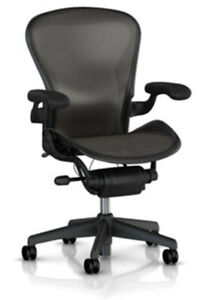 Herman Miller Aeron Basic Ergonomic Computer Home Office Desk Task Chair Size C