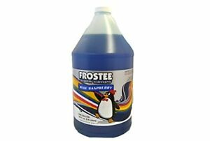 Perfect Stix Snow Cone Syrup Gallon Blue Raspberry Snow Cone Syrup 1 Gal