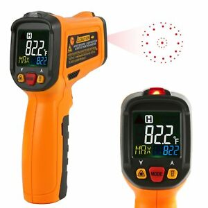 Infrared Thermometer Janisa Pm6530b Laser Temperature Gun Digital Non Contact Ki