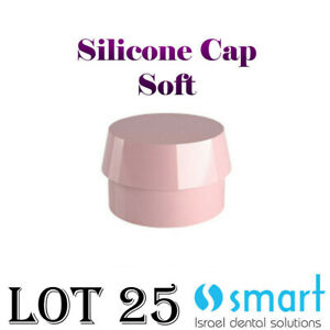 Lot X 10 Dental Implant Ball Attachment Silicone Cap 2 5 Mm Soft