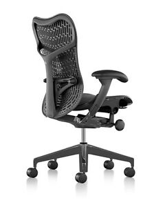 New Herman Miller Mirra 2 Home Office Chair Black Graphite 12 Year Warranty