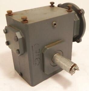 Sterling Electric 50 1 Worm Speed Reducer 226bq050142