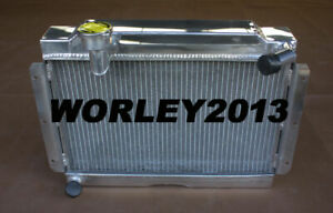 Aluminum Radiator For Mg Mga 1500 1600 1622 De Luxe 1956 1962 Manual