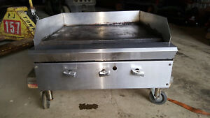 24 Natural Gas Or Propane Countertop Flat Top Grill Flattop Grill Stove