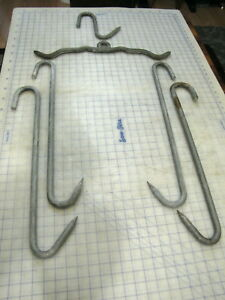 Meat Processing Hooks Farm Hunting Game Arts Crafts Steampunk Decor