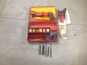 Hilti Dx 600n Powder Actuated Nail Gun Tested Lots Of Extras