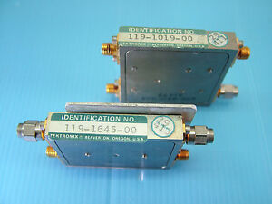 Tektronix Parts 119 1645 00 And 119 1019 00 For 492