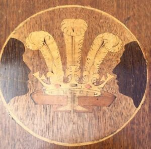 Mahogany Table Antique Dining Table Enlish Prince Of Wales Inlay