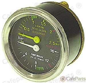 Boiler pump Pressure Gauge 60 Mm