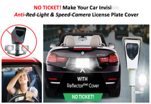 License Plate Red Light Camera Blocker And Photostopper Cover As Seen On Tv 2