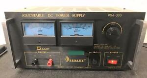 Samlex Psa 305 Adjustable Dc Power Supply 5 Amp 30 Volt Tested And Works Great