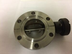 Huntington Bf 150 Manual Butterfly Valve Vac u flange