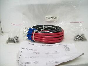 Alpha Power Supply 6 battery Cable Kit Priced To Sell Fast Shipping