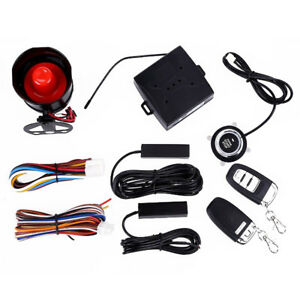Suv Alarm System Keyless Entry Engine Ignition Push Starter Button Exquisite