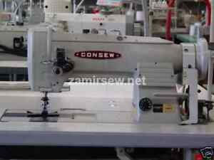Consew 2 Needle Walking Foot Sewing Machines 339rb 4 Head Only 1 4