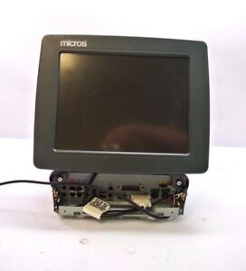Micros Eclipse 400495 099 Pos Workstation Terminal For Parts Repair