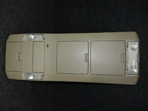 2007 2013 Toyota Tundra Double Cab Oem Tan Overhead Roof Console Dome Map Lights