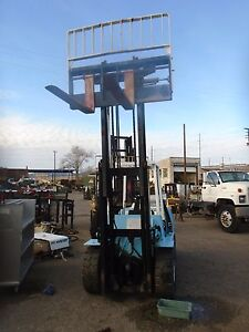 Hyster H 90xl Upright Mast With Carriage With Side Shift And Forks
