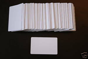 Rfid Proximity Contactless 13 56 Mhz Inkjet Pvc Blank Id Cards Epson Lot Of 50