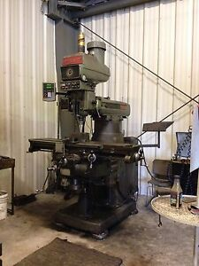 Bridgeport Milling Machine Series Il Vertical 4 Hp