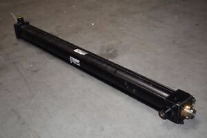 Parker Hydraulic Cylinder 3l Series 02 00 Csb3lcts39ac 2 Bore X 31 Stroke