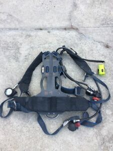 Survivair Panther sigma Low Pressure Scba Back Pack Nfpa 1997 Ed Compass