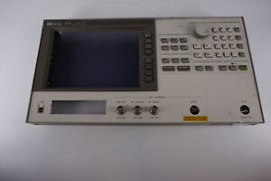 Agilent 4352a Vco pll Signal Analyzer 10mhz 3ghz Front Panel