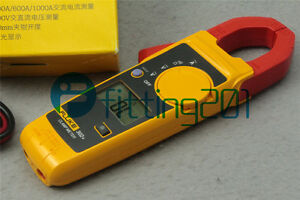 Fluke New 302 Digital Clamp Meter Ac dc Multimeter Electronic Tester F302