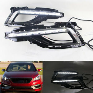Led Drl Daylight Daytime Running Fog Light For Hyundai Sonata 9 2014 2015 2016