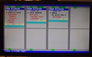 Kitchen Video Kds Kvs Compatible With Micros E7 And Other Pos Systems