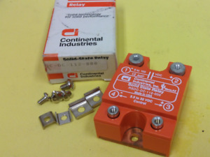 Continental P n Rsdc dc 112 000 Solid State Relay New