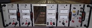 Kepco Current Regulator Rack With 2 cc 15 1 5mm 2 pcx 40 0 5mat Ops 15 1 5b