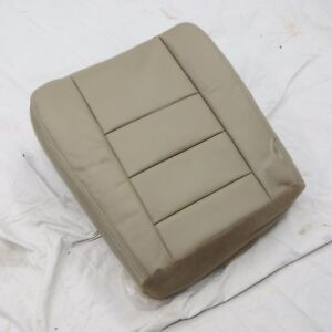 03 07 Ford Excursion Pickup Diesel Driver Bottom Vinyl Seat Cover Tan