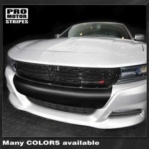 Dodge Charger 2015 2019 Sxt Front Bumper Blackout Decal Stripe Choose Color