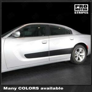 Dodge Charger 2011 2019 Door Accent Side Stripes Decals choose Color