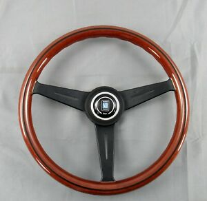 Nardi Steering Wheel Classic 360 Mm Mahogany Wood With Black Spokes 5062 36 2000