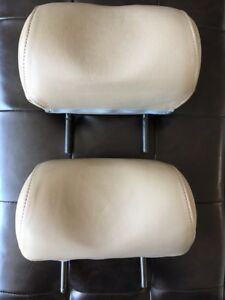 Saab 9 3 Leather Back Seat Headrests 2001 Sold As A Pair